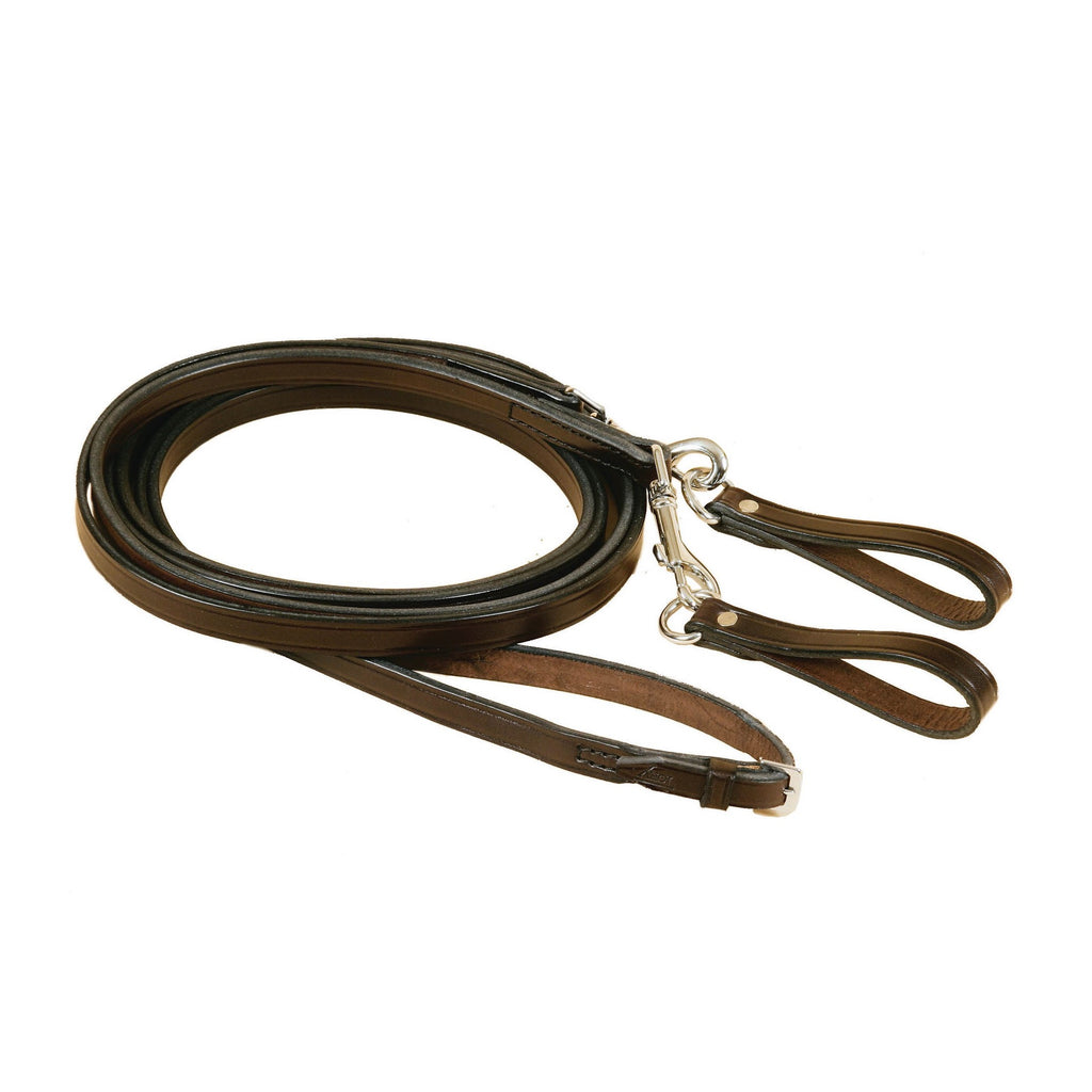 Tory Leather - Leather Pony Draw Reins - Quail Hollow Tack