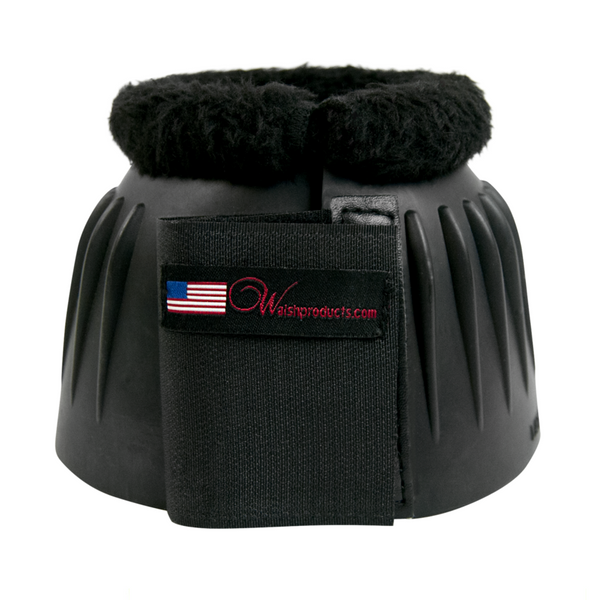 Walsh - Velcro Bell Boot With Fleece - Quail Hollow Tack