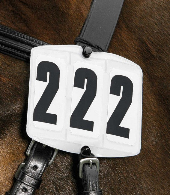 Waldhausen - Head Numbers - Square 3 Digit - Quail Hollow Tack