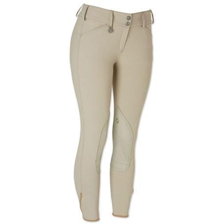 Ciara Knee Patch Breech Tan