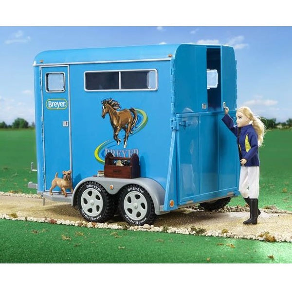 Two Horse Trailer - Tradditional