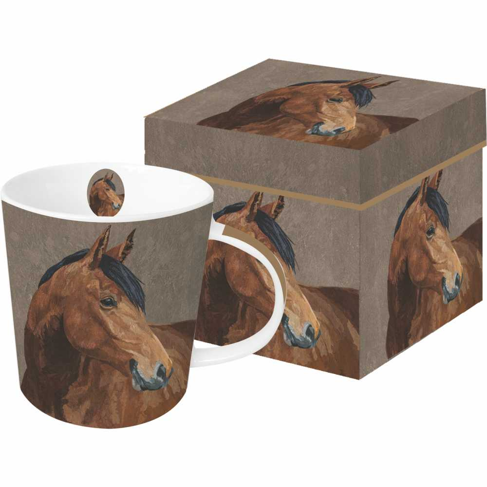 PaperProducts Design - Abacus Mug with Gift Box - Quail Hollow Tack