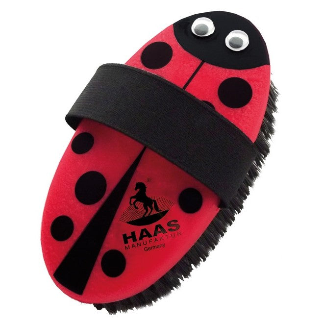 Haas - Ladybug Brush - Quail Hollow Tack