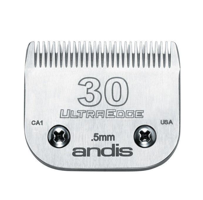 Andis - UltraEdge® Detachable Blade - Size 30 - Quail Hollow Tack