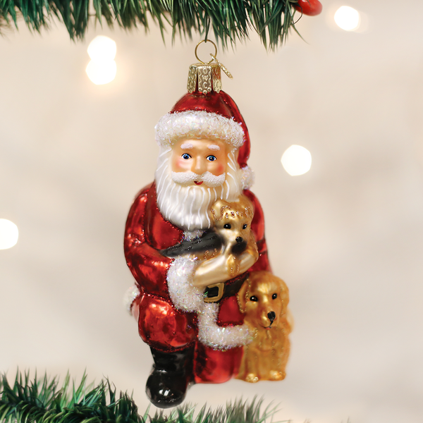 Santa's Best Friends Ornament