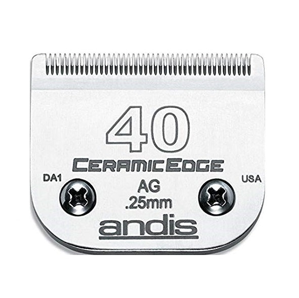 Andis - Ceramic Edge Detachable Blade - 40 - Quail Hollow Tack