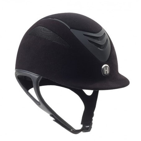 One K - Defender Suede Helmet - Quail Hollow Tack