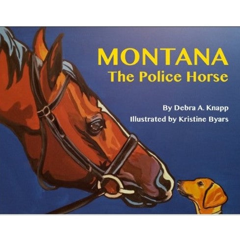 Crooked Trail Press - Montana The Police Horse - Quail Hollow Tack