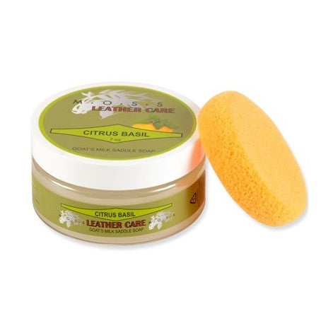 Moss - Citrus Bail Saddle Soap - Quail Hollow Tack