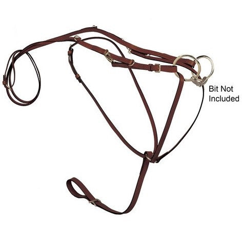 Tory Leather - German Martingale Set - Quail Hollow Tack