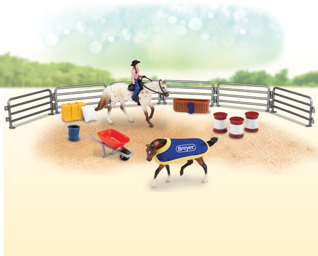 Breyer - Western Play Set - Stablemates - Quail Hollow Tack