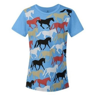 Kerrits Round Up Horse Tee - Kids