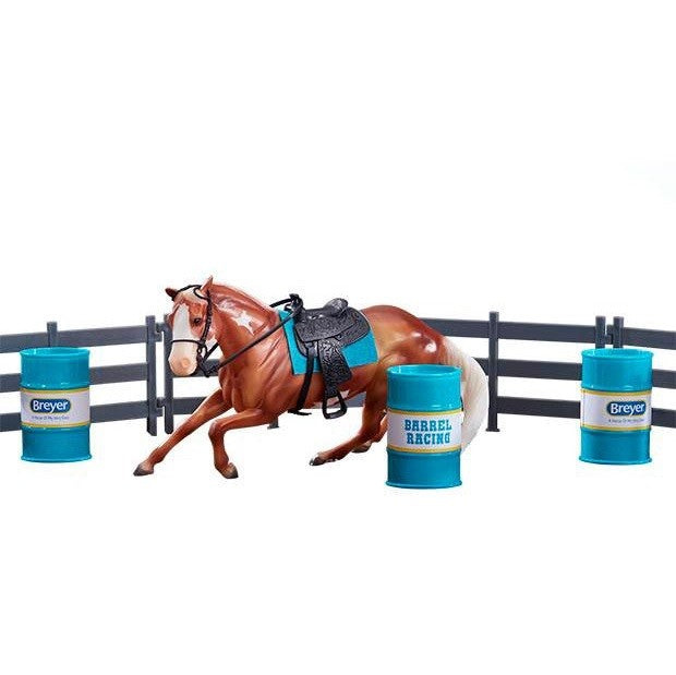 Breyer - Barrel Racing Set - Quail Hollow Tack