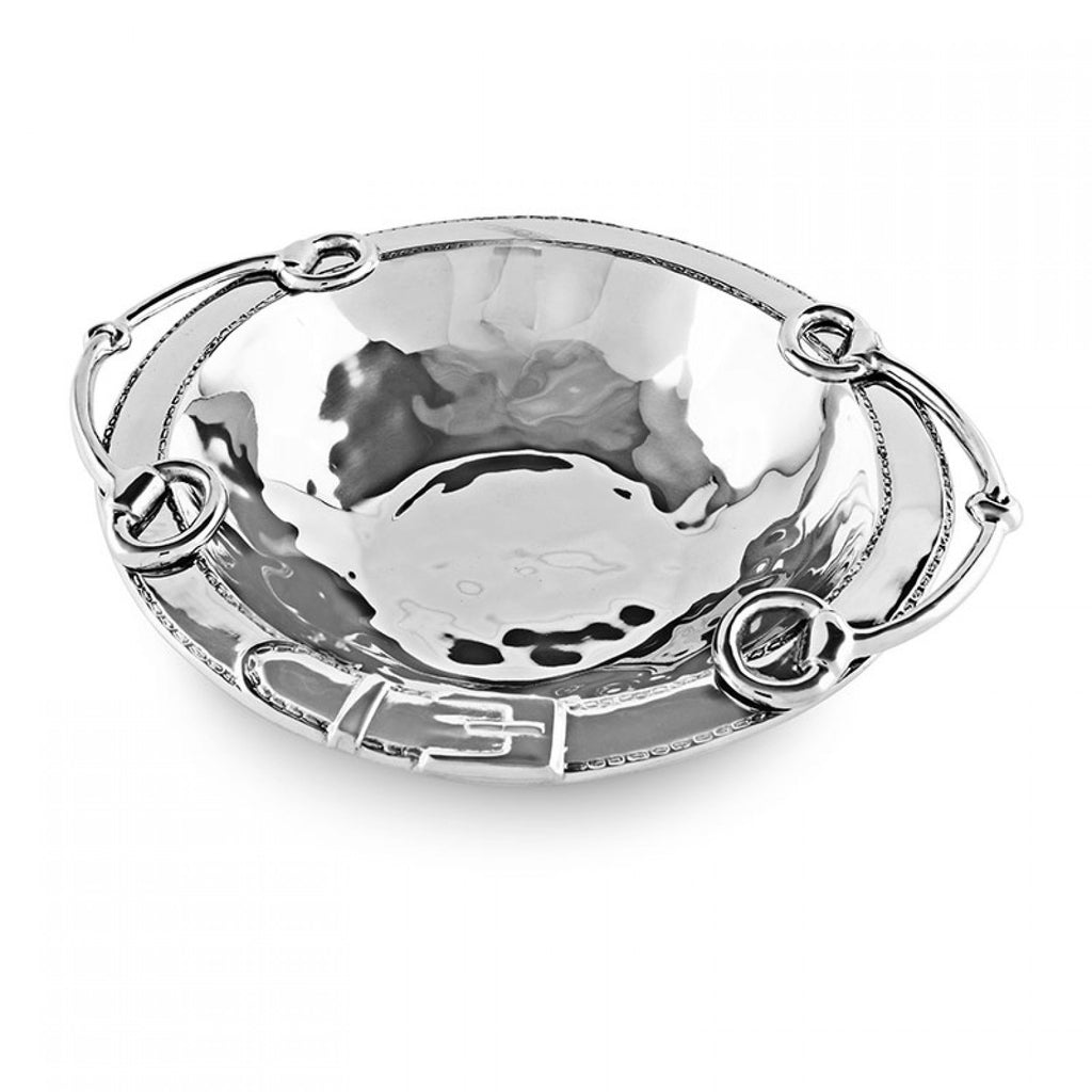 Beatriz Ball Western Equestrian Bowl With Handles