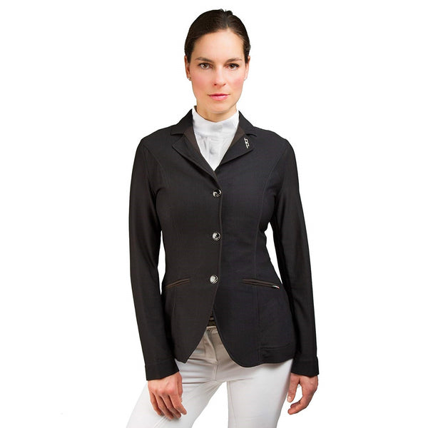 Horseware Ireland - Ladies AA Platinum Motion Lite Jacket - Black - Quail Hollow Tack