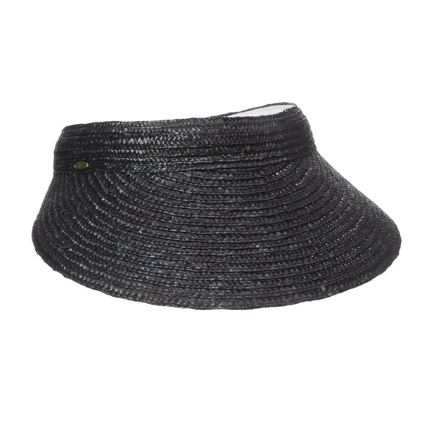 Scala - Women's Sewn Braid Visor - Quail Hollow Tack