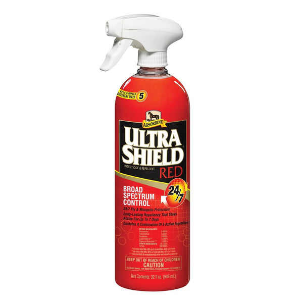 Absorbine - UltraShield Red Fly Spray - Quail Hollow Tack