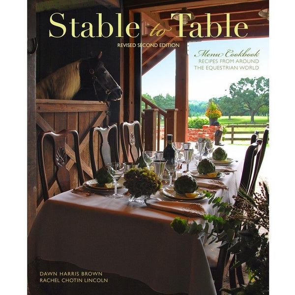 Browncroft Publishing - Stable to Table - Quail Hollow Tack