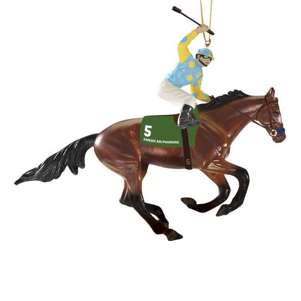 Breyer American Pharoah Ornament