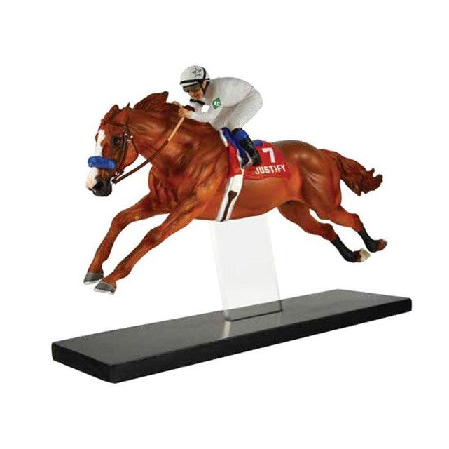 Breyer - Justify - Limited Edition Resin - Quail Hollow Tack