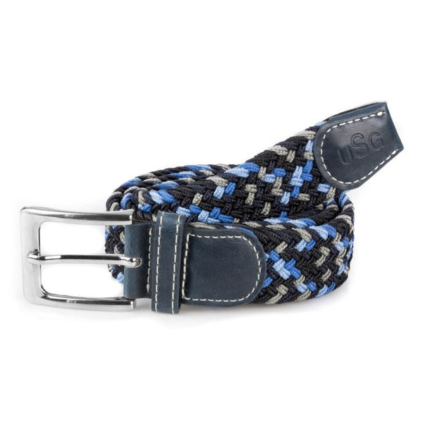 KL Select - Stretch Belt - Blue Multi - Quail Hollow Tack