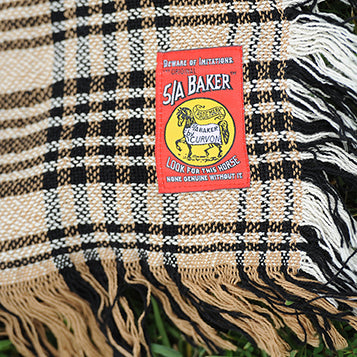 Original Baker Plaid Afghan