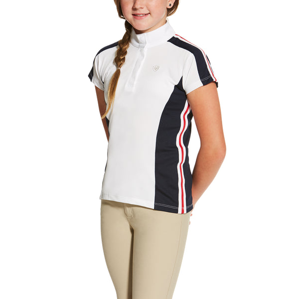 Ariat - Girls Aptos Color Block Shirt - Quail Hollow Tack