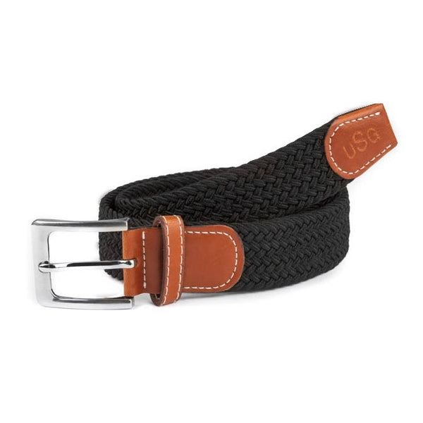 KL Select - Stretch Belt - Black - Quail Hollow Tack