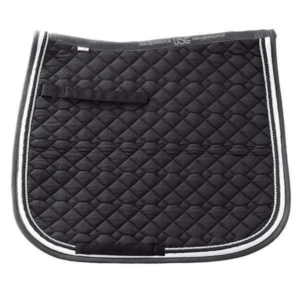 General Purpose Saddle Pad - Black, Ecru, & Grey