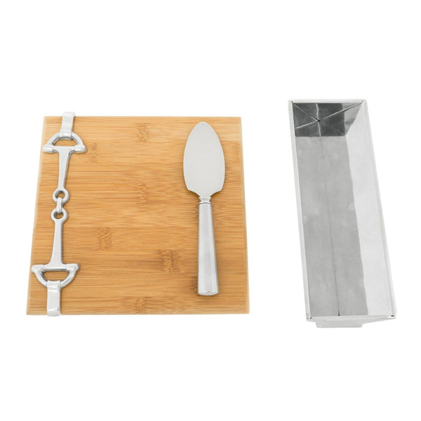 Arthur Court - Bamboo Cheese Set - Quail Hollow Tack