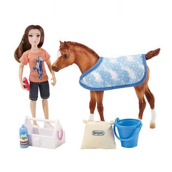 Breyer - Bath Time Fun - Quail Hollow Tack