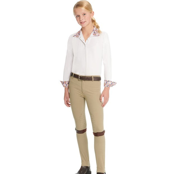 Ovation - Girls Bellissima Grip Jodhpur - Quail Hollow Tack