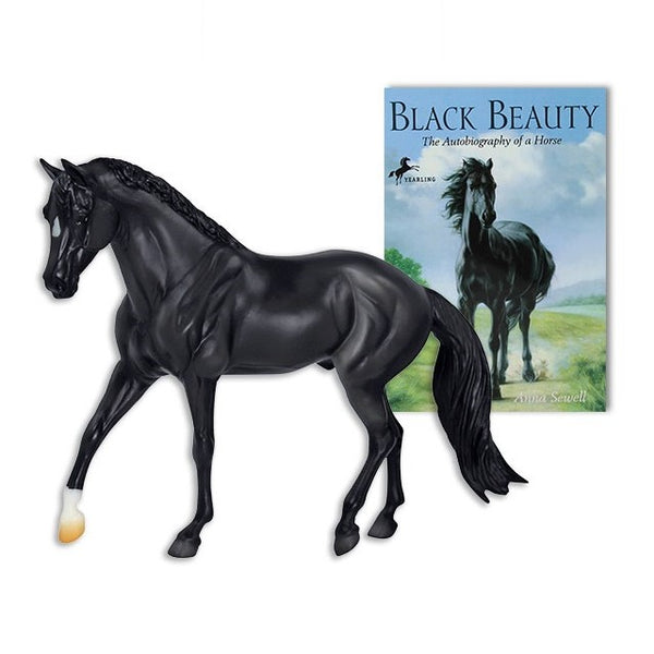 Breyer - Black Beauty with Book - Classic - Quail Hollow Tack