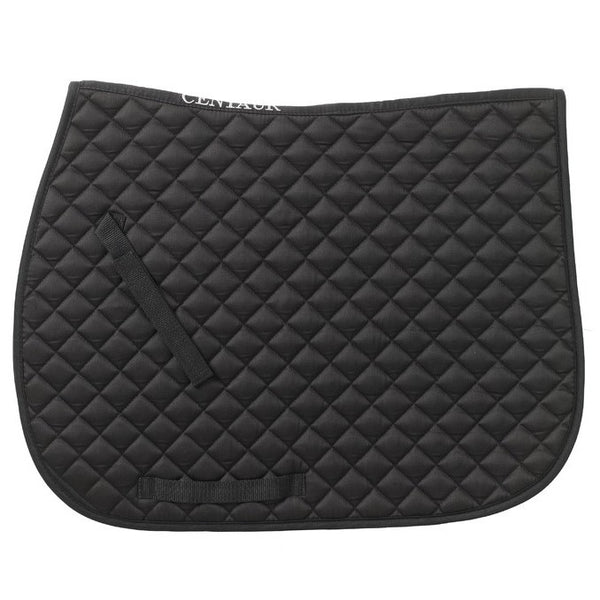 Centaur - Imperial Saddle Pad - Black - Quail Hollow Tack