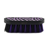 Lettia - Purple & Black Crystal Zebra Design Brushes - Quail Hollow Tack