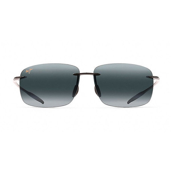 Maui Jim - Breakwall Polarized Rimless Sunglasses - Gloss Black - Quail Hollow Tack