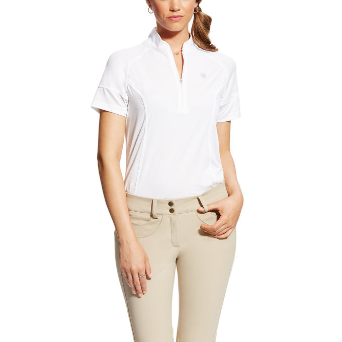 Ariat - Ladies Cambria Jersey Baselayer - White - Quail Hollow Tack