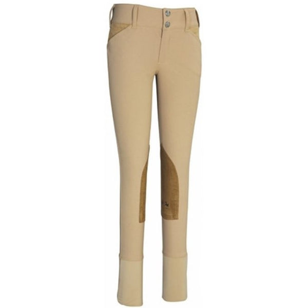 Champion Front Zip Breeches Tan