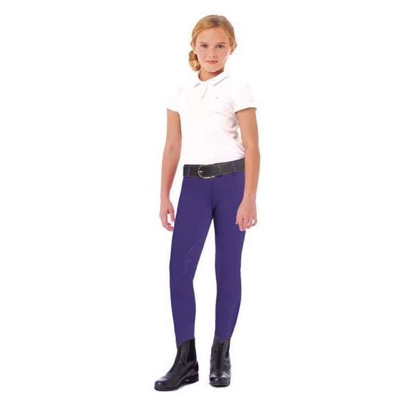 Ovation - Girls Aerowick Knee Patch Riding Tight - Quail Hollow Tack