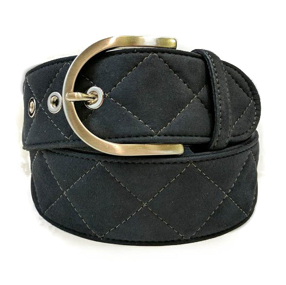 Clarino Quilted Belt