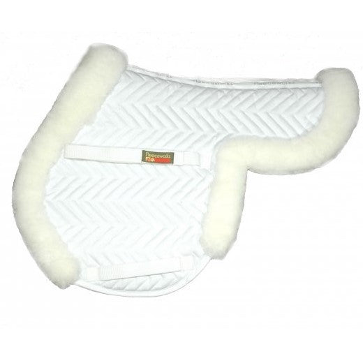 Fleeceworks Classic Partial Saddle Pad