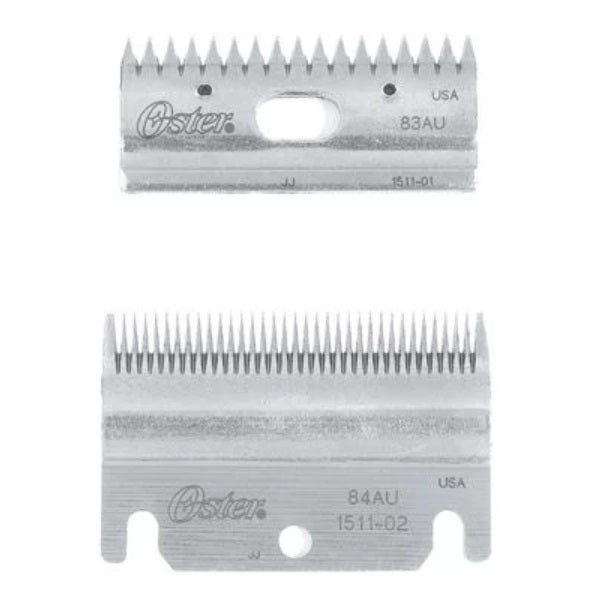 Oster - Clipmaster Top and Bottom Blade Combo Set - Quail Hollow Tack