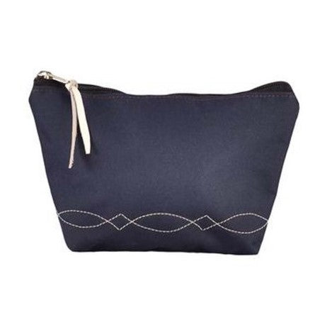 Rebecca Ray - Bridle Stitch Cosmetic Bag - Quail Hollow Tack
