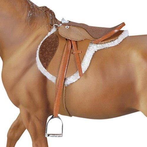 Breyer - Devon Hunt Seat Saddle - Traditional - Quail Hollow Tack