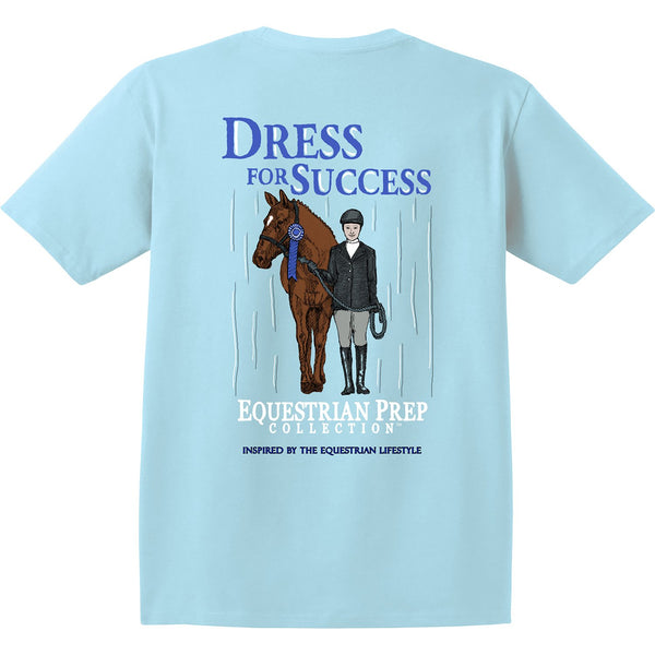 Stirrups Clothing - Ladies Dress for Success Tee - Quail Hollow Tack