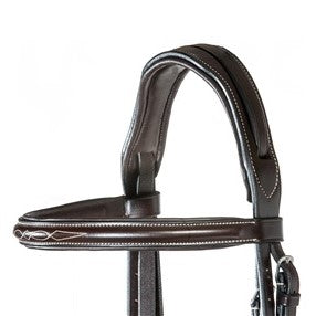 Nunn FIner - Elena Hunter Bridle with Reins - Quail Hollow Tack