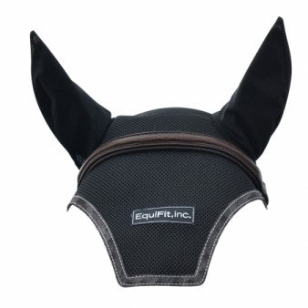 EquiFit - Ear Bonnet with Logo - Quail Hollow Tack
