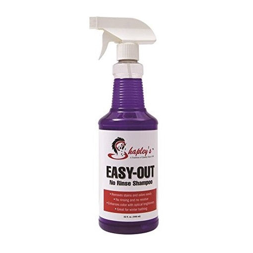 Shapley's - Easy Out No Rinse Shampoo - Quail Hollow Tack