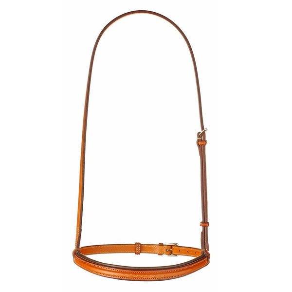 Edgewood - Fancy Stitched Noseband - Quail Hollow Tack