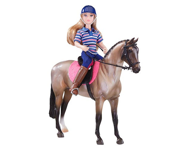 Breyer - English Horse and Rider - Quail Hollow Tack
